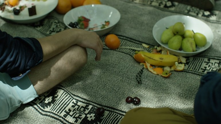 A still from The Uncorrupted, Tamar Guimarães. Film, 2016