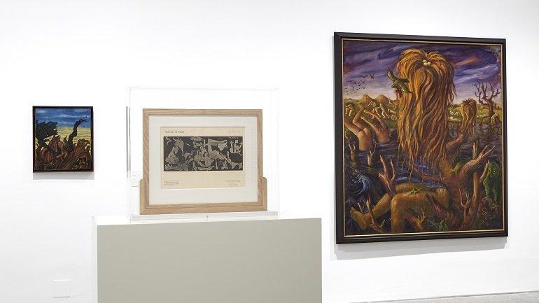 Vistas de sala. Art et Liberté: ruptura, guerra y surrealismo en Egipto (1938-1948), 2017