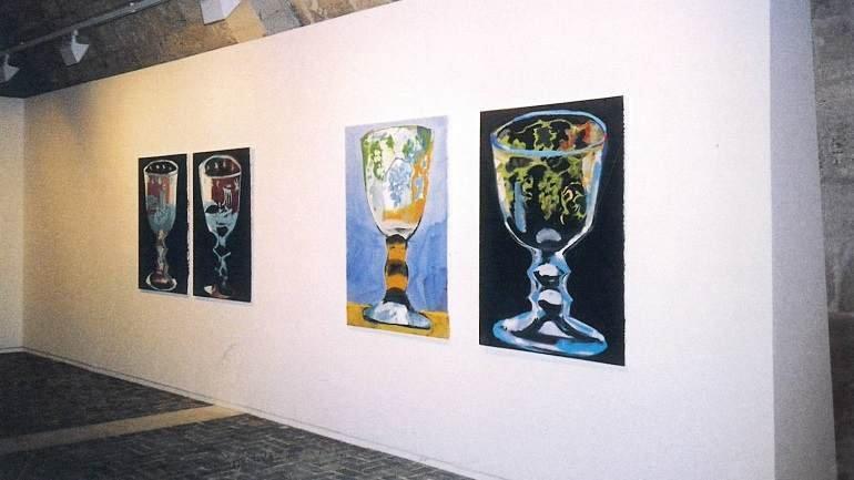 Exhibition view. Juan Navarro Baldeweg. La copa de cristal, 2004
