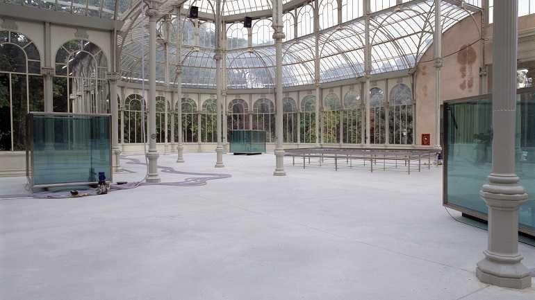 Exhibition view. Per Barclay, 2003