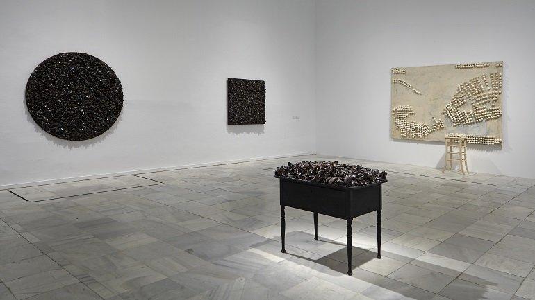 Vista de sala de la exposición. Marcel Broodthaers, 2016