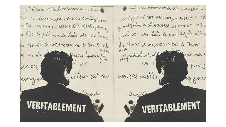 Marcel Broodthaers. Véritablement (Truly), 1968. The Museum of Modern Art, New York. Partial gift of the Daled Collection and partial purchase through the generosity of Maja Oeri and Hans Bodenmann, Sue and Edgar Wachenheim III, Agnes Gund, Marlene Hess and James D. Zirin, Marie-Josée and Henry R. Kravis, and Jerry I. Speyer and Katherine G. Farley, 2011 © The Estate of Marcel Broodthaers c/o SABAM Belgium – VEGAP 2016