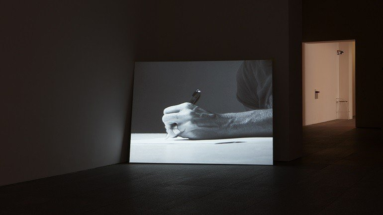 Exhibition view. Matthew Buckingham. Time Proxies, 2009