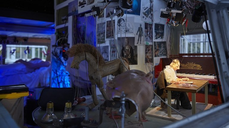 Janet Cardiff & George Bures Miller. The Marionette Maker, 2014