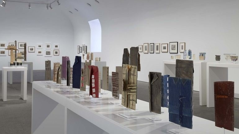 Exhibition view. James Castle. Show and Store, 2011