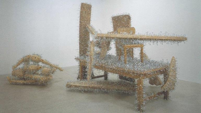 Exhibition view. Tony Cragg, 1995
