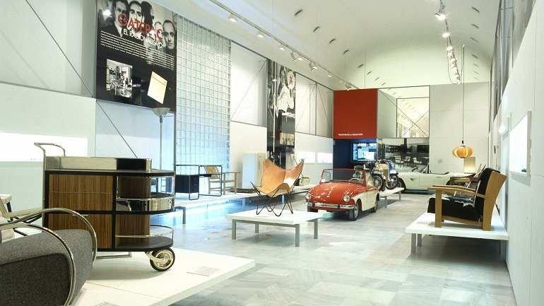 Exhibition view. Diseño industrial en España, 1998