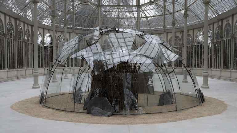 Mario Merz. Igloo del Palacio de las Alhajas (Igloo at Palacio de las Alhajas), 1982. Sculpture. Museo Nacional Centro de Arte Reina Sofía Collection, Madrid