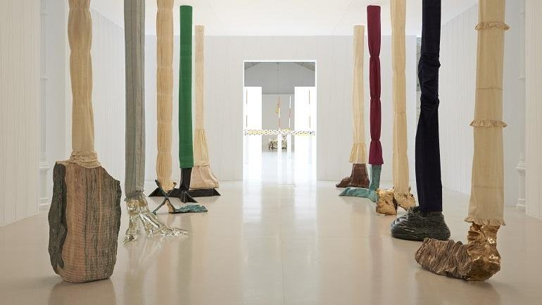 Exhibition view. Luciano Fabro, 2014