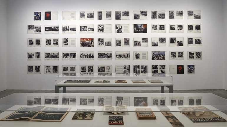 Exhibition view. Photobooks. Spain 1905-1977, 2014