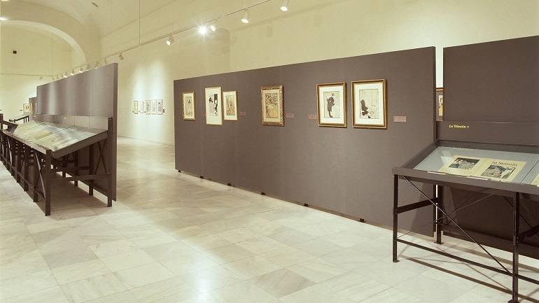 Exhibition view. Juan Gris, dibujante de prensa: de Madrid a Montmartre, 2003