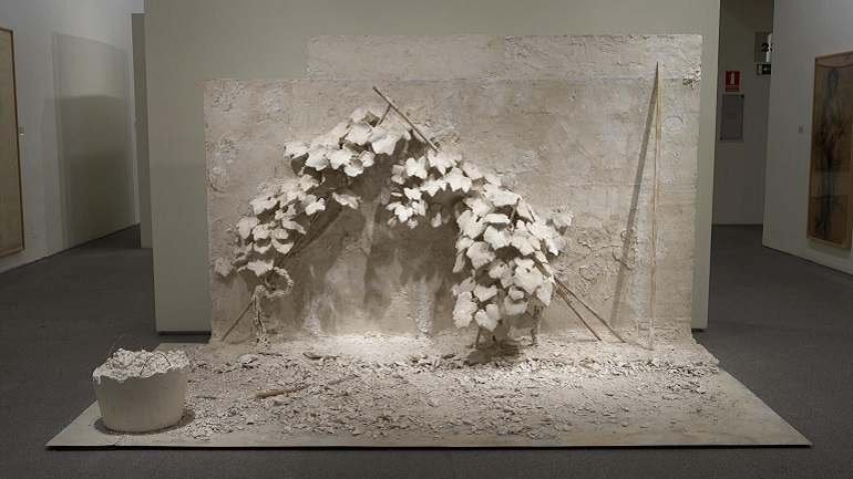 Carmen Laffón. Cepas, 2006-2007. Sculpture. Museo Nacional Centro de Arte Reina Sofía Collection, Madrid