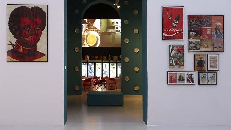 Vista de sala de la exposición. Miralda. De gustibus non disputandum, 2010