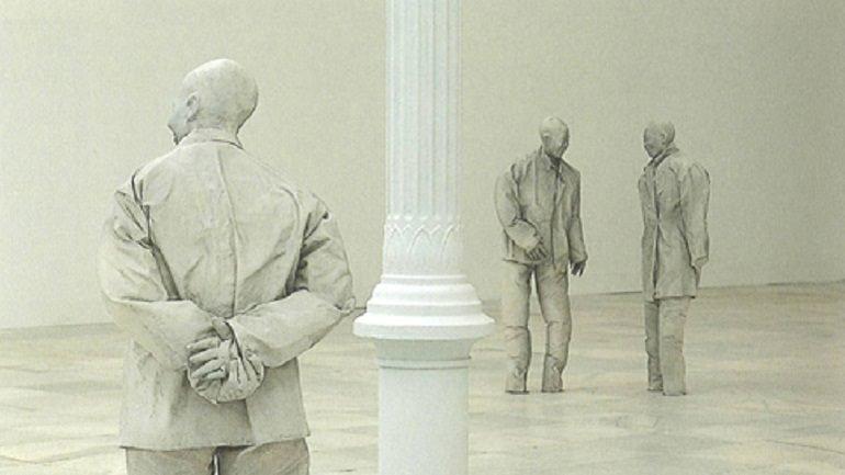 Juan Muñoz. Plaza (Madrid), 1996. Escultura. Colección Museo Nacional Centro de Arte Reina Sofía, Madrid