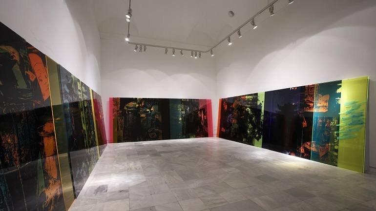 Vista de sala de la exposición. Ester Partegàs. Invasores, 2007