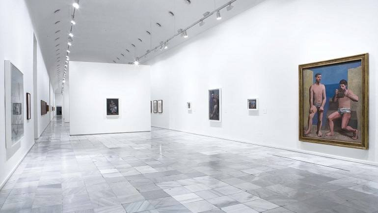 Exhibition view. The Collection from the Musée National Picasso Paris, 2008