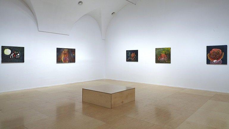 Vista de sala de la exposición. Anne-Marie Schneider, 2016