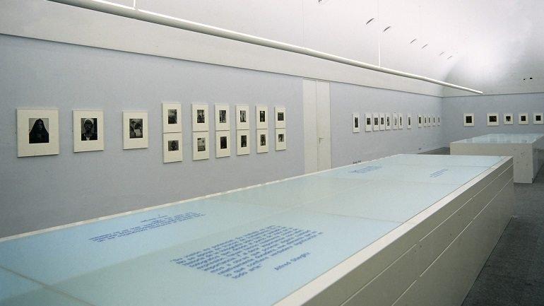 Vista de sala de la exposición. Paul Strand. El mundo a mi puerta. 1950-1976, 1996