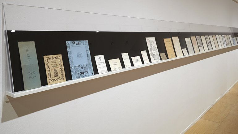 Exhibition view. Ulises Carrión, 2016