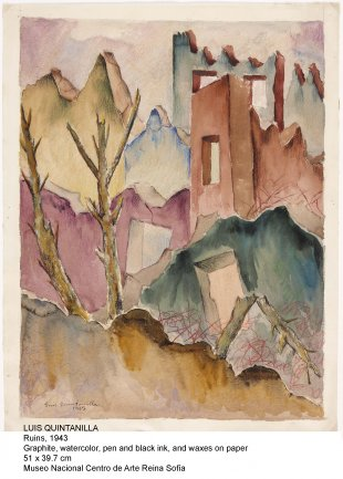 Luis Quintanilla. Ruins, 1943