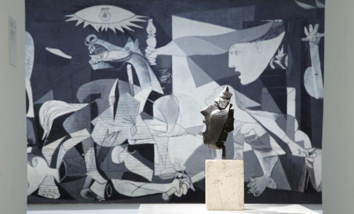 Colección 1. La irrupción del siglo XX: utopías y conflictos (1900-1945). Vista de sala