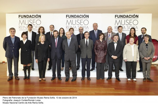 Pleno del Patronato de la Fundación Museo Reina Sofía. Octubre, 2014