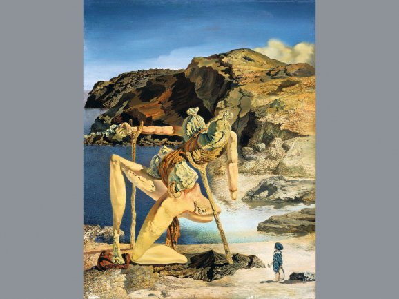 Dalí. Le spectre du sex appeal (El espectro del sex-appeal), 1934 Óleo sobre tabla 18 x 14 cm Fundació Gala Salvador Dalí © Salvador Dalí, Fundació Gala-Salvador Dalí, VEGAP, Madrid, 2012