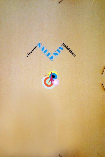 Salle XIV. Los poemas pintados de Vicente Huidobro