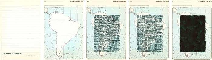 Horacio Zabala, RevisarCensurar, 1974