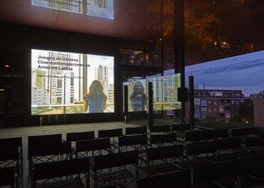 Terrazas del edificio Nouvel