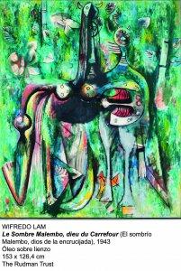El sombrio malembo.1943, Wifredo Lam