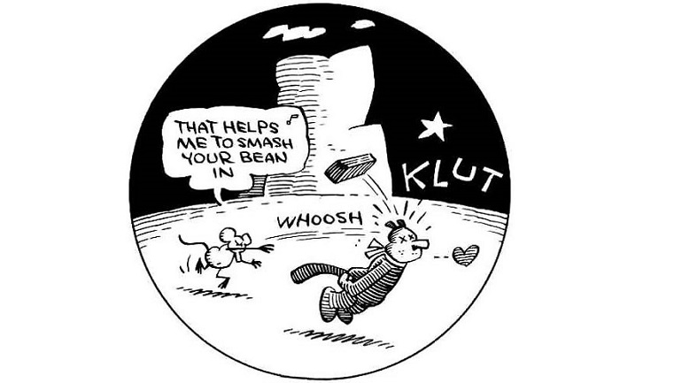 Krazy Kat, © King Features Syndicate, Inc. ™Hearst Holdings, inc., King Features Syndicate Division